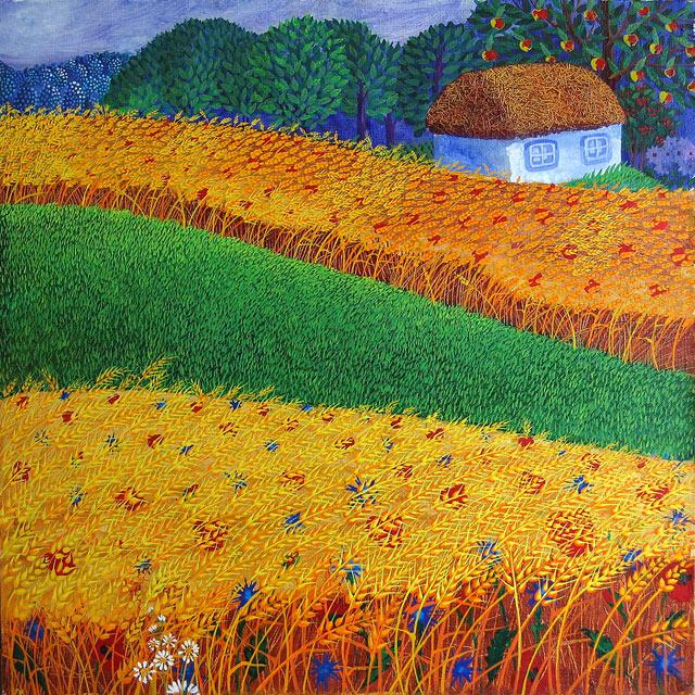 Талантливый львовский художник ольга